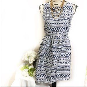Bcbgmaxazra Aztec sheath dress